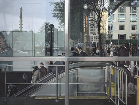 Subway Entrance, Columbus Circle